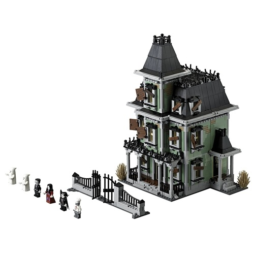 LEPIN 16007 2141pcs Movie Series Monster Fighters Haunted House Model Building Blocks Bricks Kit Set – Plastic Bag Package