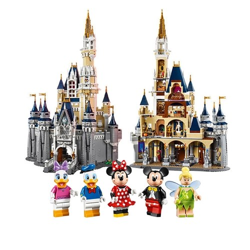 LEPIN 16008 4080pcs Movie Series Disney Castle Model Building Blocks Bricks Kit Set – Plastic Bag Package
