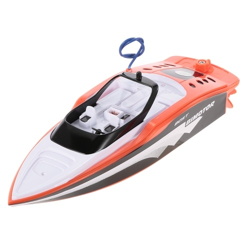 Create Toys Remote Speedboat 3392M Mini Radio Control Electric RC Racing Boat RTR