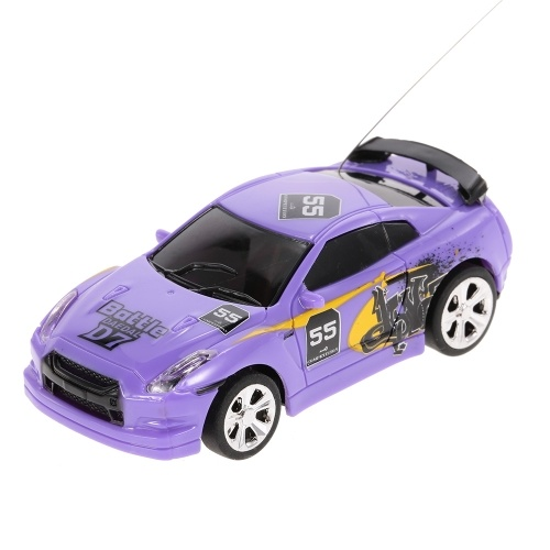 Create Toys 2006C 1/58  Mini RC Car Toy 2CH Remote Control Electric Car RTR – 8 Types Randomly Delivered