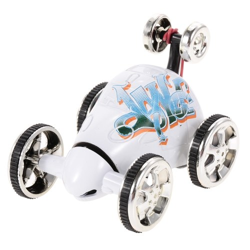Create Toys 2152B Mini RC Stunt Car 360 Degree Rolling Rotating Wheel Car Toy – 6 Types Randomly Delivered