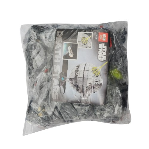 LEPIN 05026 3449pcs Star Wars Series Death Star II Building Blocks Kit Set – Plastic Bag Package