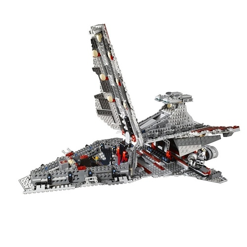 LEPIN 05042 1200pcs Star Wars Series Venator-class Republic Attack Cruiser Building Blocks Kit Set – Plastic Bag Package