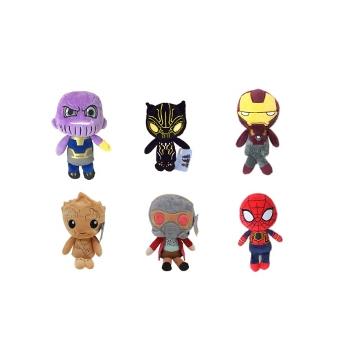 Marvel Avengers 3 Groot Stuffed Plush Toy Family Party Doll Christmas New Year Gift for Kids