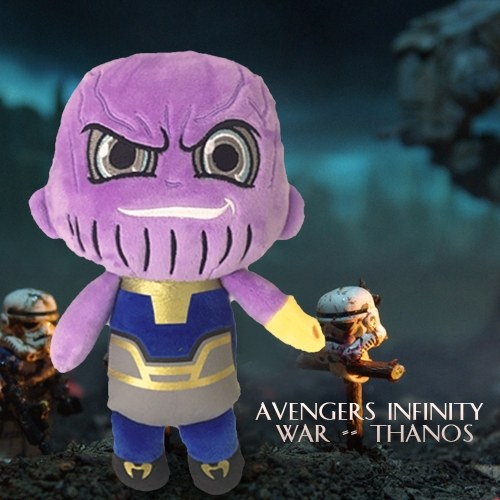 Marvel Avengers 3 Thanos Stuffed Plush Toy Family Party Doll Christmas New Year Gift for Kids