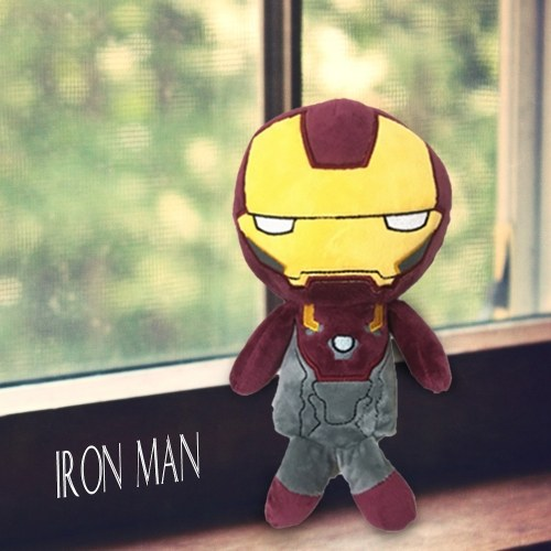 Marvel Avengers 3 Iron Man Stuffed Plush Toy Family Party Doll Christmas New Year Gift for Kids