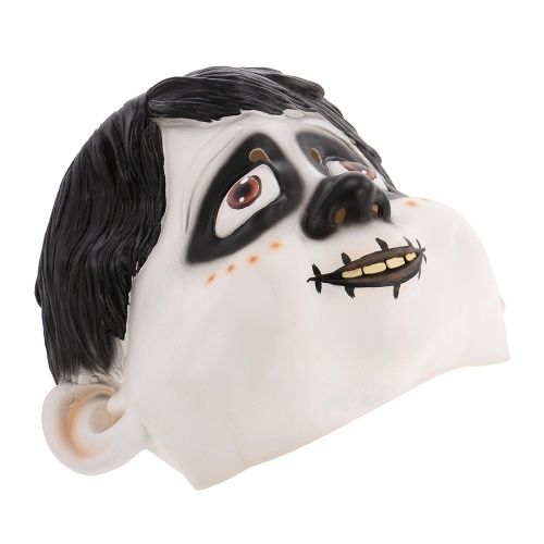 Coco Miguel Mask Latex Costume Mask Headgear for Halloween Cosplay Party Decoration Backroom Film Props
