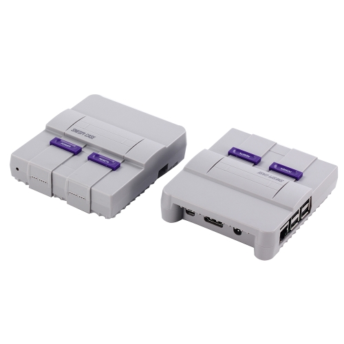 SNESPi Case Geekworm Raspberry Pi 3 Mini NES Style Case Enclosure Compatible with Raspberry Pi 3 Model B, 2B and B+