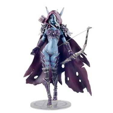 for WOW Fans Forsaken Queen Sylvanas Windrunner Archery PVC Action Figure Model Collectible Decoration Toy Birthday Gifts