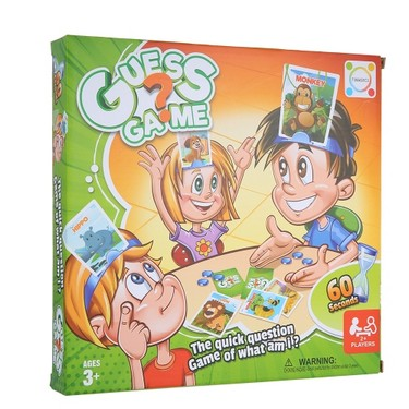 Who Am I Guess Games Board Card Game for Family Kid Children Toy Funny Educational Toys Style 1 Person