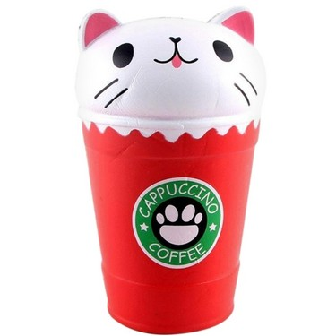 Squishy Slow Rising Cute Coffee Cup Collection Gift Decor Funny Toy