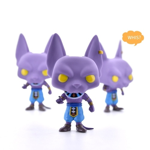 1 Pcs Play Fun Dragon Ball 120 Beerus Pop Gift Collection Anime Figure Toy Children Kids Game