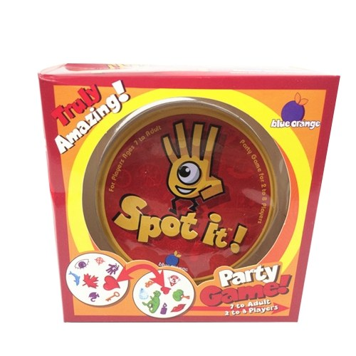 Funny Board Game Spot It Game Find Matching Symbol Card Game