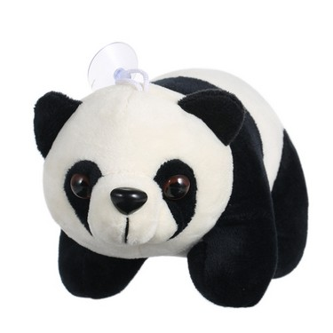 Cute Cartoon Stuffed Panda with Bamboo Soft Plush Toy Stuffed Animal Toy Doll Gift for Kids Style 2