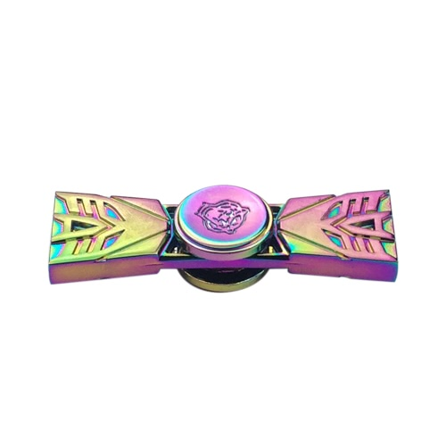 Rainbow Fidget Toys Anti-Anxiety Spinner 360° Focusing for Kids Adults Stress Reducer Relieves ADHD Anxiety Desk Portable EDC Focus Toy