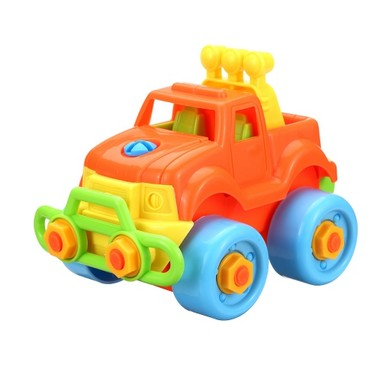 Simpim Baby Kids Puzzle Educational Toys Children Disassembly Assembly Cartoon Car Toy Gift Style 1
