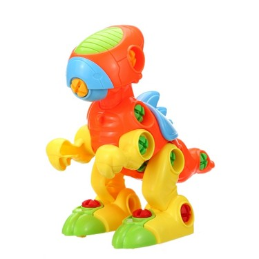 1 Pc Kids Animal Puzzle Plastic Disassembly Assembly Cartoon Toy Kids Educational Toys Children Baby Gift Style 1
