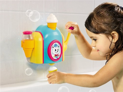 TOMY E72378 Kids Bath Foam Cone Factory Baby Bath Toy Toddler Toys