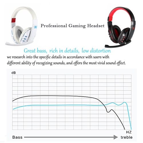 V8 Professional BT Gaming Headset Wireless Stereo BT 4.0 + EDR Headphone Music Hands-free w/ Mic Adjustable Headband Black-red for iPhone Samsung Smart Phones Desktop Notebook Tablet PC