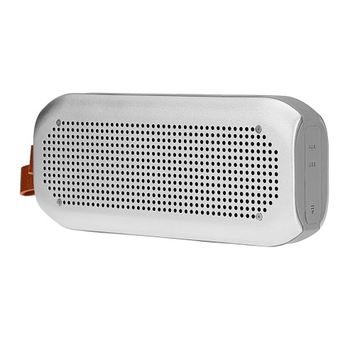 A3 Wireless BT Stereo Speaker BT 4.0 NFC Waterproof  AUX  Hands-free Silver  for iOS / Android Smart Phones Other BT-enable Devices