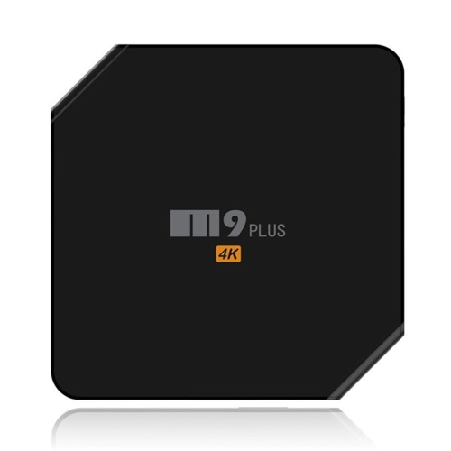 M9 Plus Smart Android TV Box Android 5.1.1 Amlogic S905 Quad Core 2GB / 16GB with Kodi XBMC UHD 4K*2K 60fps HD Mini PC 2.4GHz & 5GHz Dual WiFi BT 4.0 DLNA Airplay Miracast LED Display Media Player  EU Plug