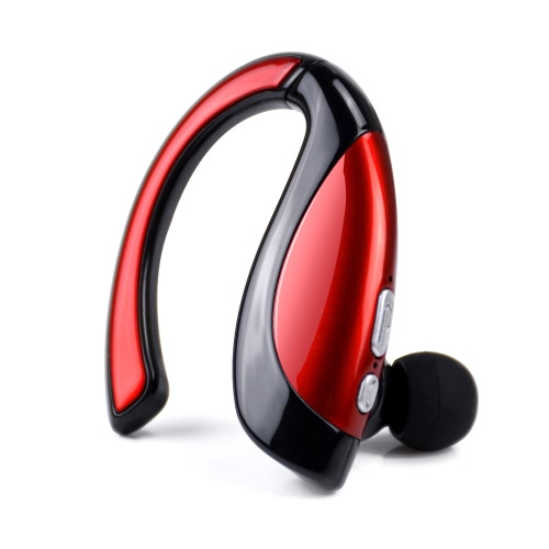 X16 Wireless Stereo BT Headset In-ear BT 4.1 Music Headphone Hands-free w/ Mic Black with Red for iPhone 6S 6 iPad iPod LG Samsung S6 Note 5 Smart Phones Tablet PC BT-enabled Devices