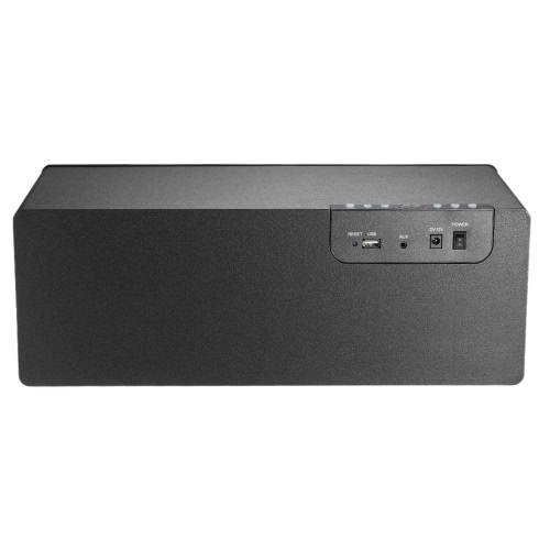 Y58 Wireless Smart HiFi Speaker Stereo DLNA Airplay 2.4G WiFi & USB & 3.5mm AUX-IN  for Smart Phones Computers Laptop  Home Use  US Plug