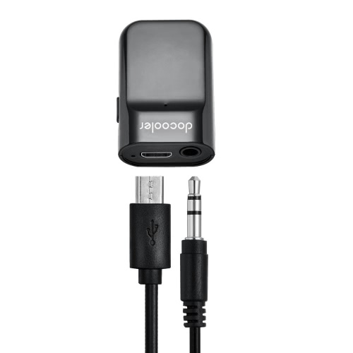 Docooler BT Receiver Hands-free Car Kits 3.5m...