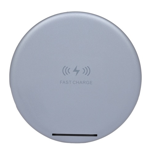 Portable Qi Wireless Power Charger 5W/7.5W/10W 2-Coils Wireless Charging Pad Fast Charge For iPhone X / 8 / 8Plus Samsung Galaxy LG