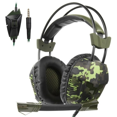 SADES SA-921 Plus 3.5mm Wired Gaming Over Ear...