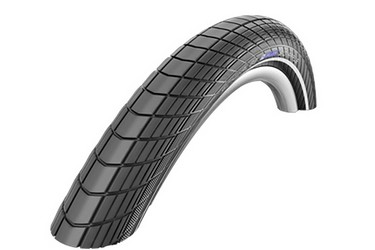 Покрышка Schwalbe BIG APPLE RaceGuard 50-559 (26х2,0) чёрный