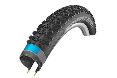 Покрышка Schwalbe SMART SAM Performance DD Folding 57-584 (27,5х2,25) чёрный